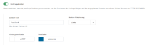 Website-Umfrage-Widget